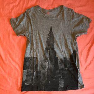 Joe Fresh NYC Chrysler Building Skyline Tee